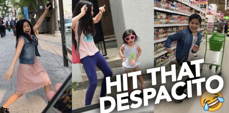 """Vidéo - Une petite fille ne peut s'empêcher de danser dès qu'elle entend le tube """"Despacito"""""""