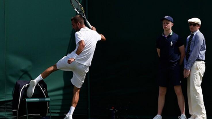 Vidéo – Les plus gros pétages de plomb des tennismen