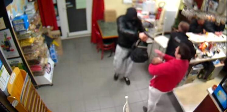 (VIDEO) Normandie : une buraliste fait fuir un braqueur armé