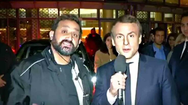 Video :  la rencontre lunaire de Cyril Hanouna et Emmanuel Macron pour la 1000e de TPMP