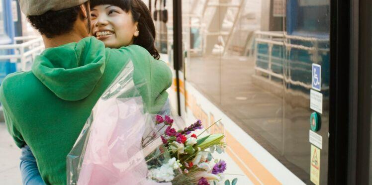 Voyage en train: drôle d'endroit pour une rencontre
