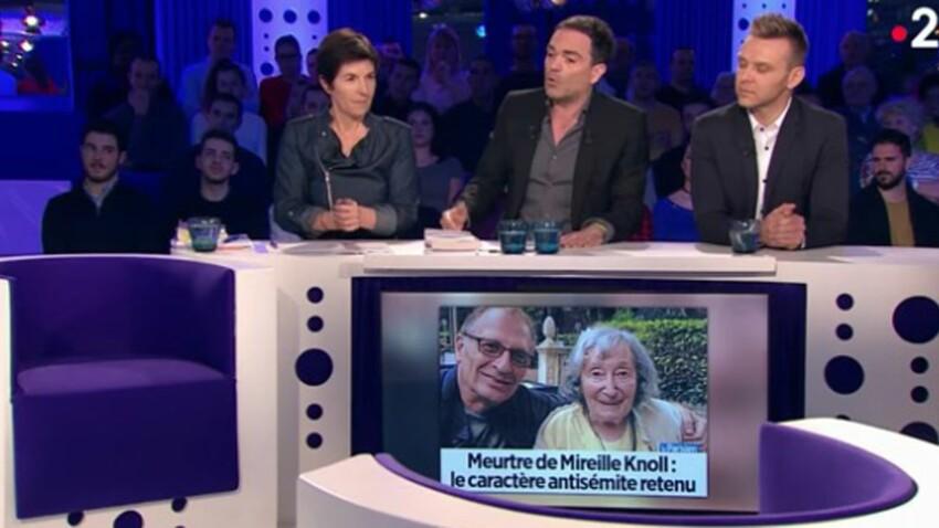 """L'émouvant poème de Yann Moix à Mireille Knoll dans """"on n'est pas couché"""""""