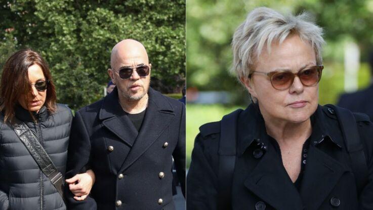 Photos - Zazie, Pascal Obispo, Muriel Robin... Tous émus aux funérailles de Maurane