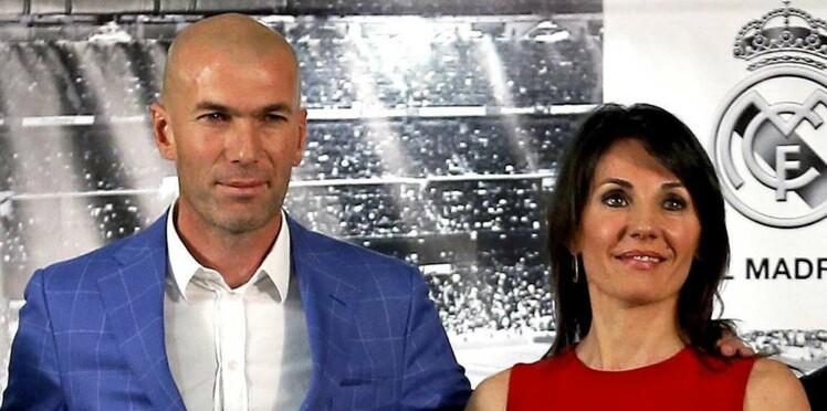 Photos   les enfants et Véronique, la femme de Zinédine Zidane, sortent de l f6e2726496ff