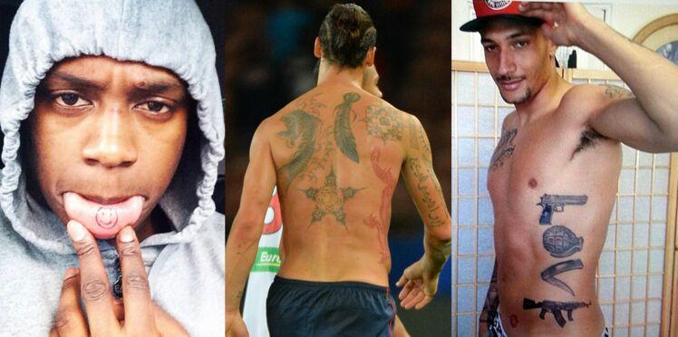 Photos : les impressionnants tatouages des footballeurs