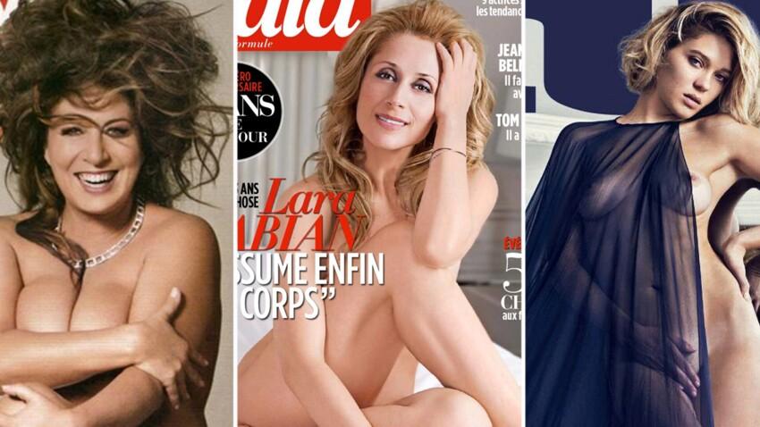 Toutes nues pour la couverture d'un magazine