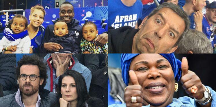 Photos : familles et femmes des joueurs, stars... Tous derrière les Bleus pour France Islande