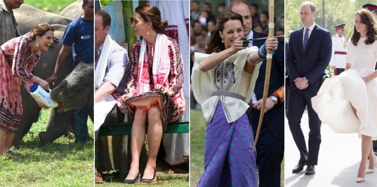 Photos : Kate et William, moments insolites et complices en Inde