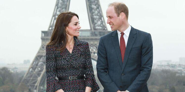Toutes les photos de Kate et William amoureux, complices et sous le charme de Paris
