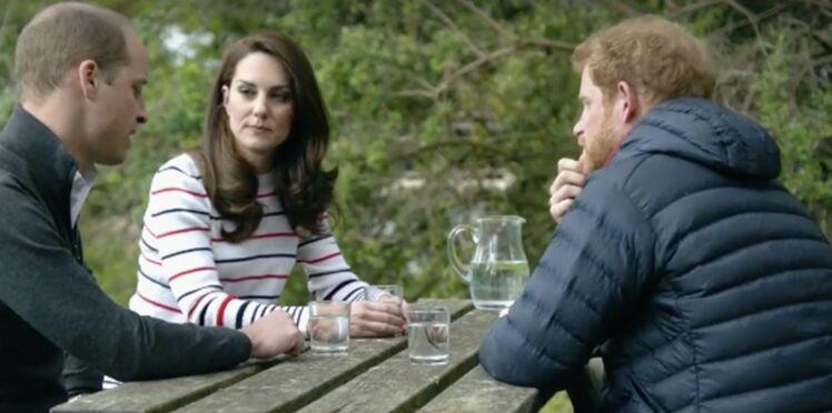 Kate Middleton bouleversée par les confidences des princes William et Harry sur la mort de Diana