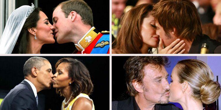 Les plus beaux baisers de stars