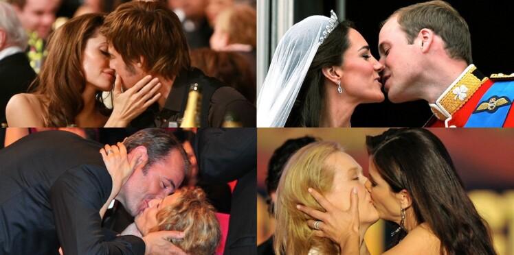 Les plus beaux baisers des stars