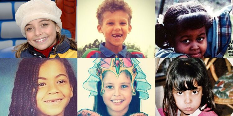 Quand les stars étaient enfants : saurez-vous les reconnaître ?
