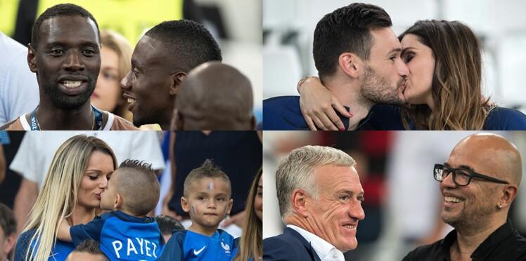 Photos : la France en finale ! Découvrez les femmes, enfants et stars fans nos Bleus