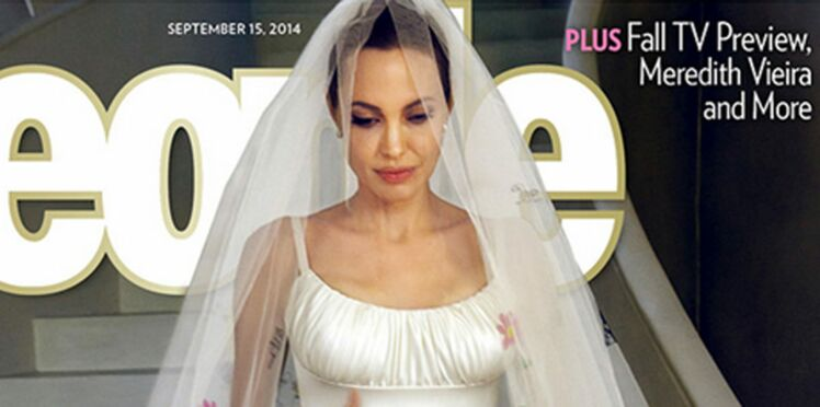 Mariage d'Angelina Jolie et Brad Pitt : enfin les photos du mariage !