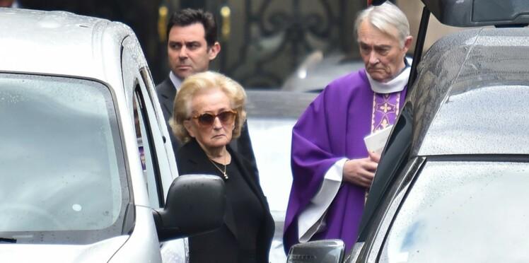 (photos) Obsèques de Laurence Chirac : Jacques Chirac était bien présent