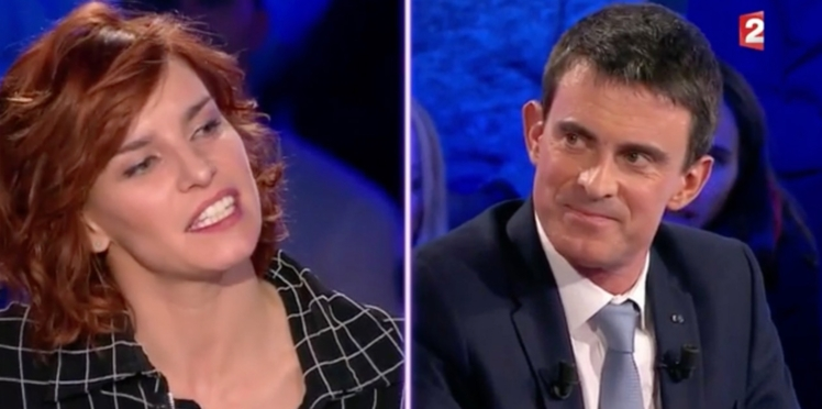 Vidéo – Fauve Hautot séduite par Manuel Valls dans ONPC