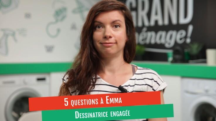 VIDÉO - L'interview d'Emma, dessinatrice engagée, sur le partage des tâches ménagères