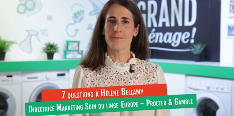 VIDÉO - L'interview d'Hélène Bellamy, Directrice Marketing Soin du linge Europe - Procter & Gamble, sur le partage des tâches ménagères