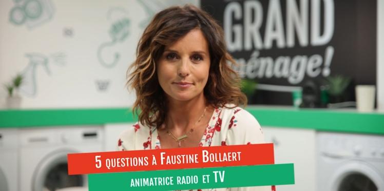 VIDÉO - L'interview de Faustine Bollaert, animatrice TV, sur le partage des tâches ménagères