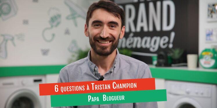 VIDÉO - L'interview de Tristan, papa blogueur, sur le partage des tâches ménagères