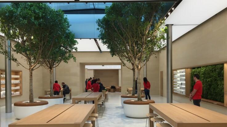 Apple ouvre son troisième store parisien