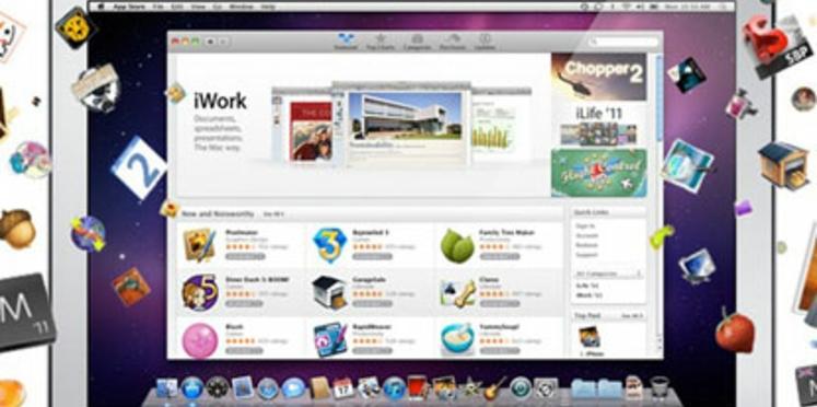 Apple lance sa boutique d'applications pour Mac