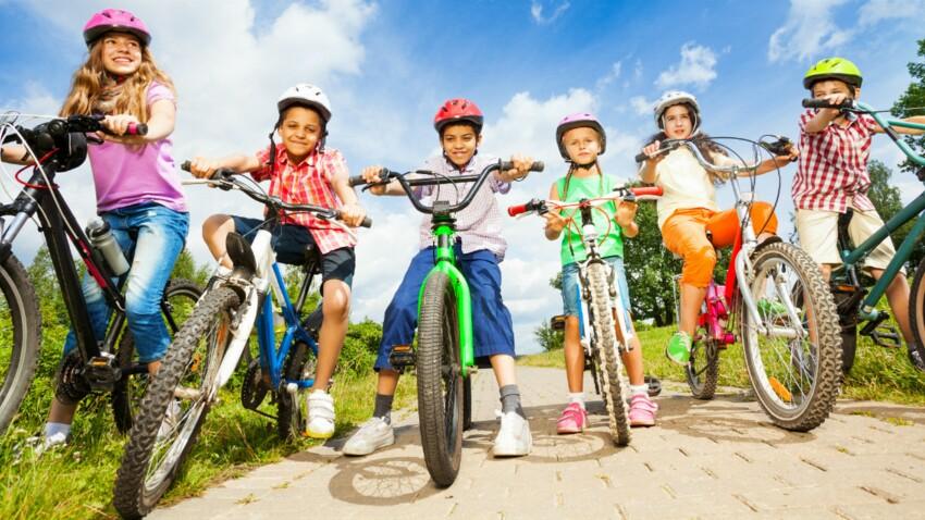 Casque obligatoire en vélo jusqu'à 12 ans