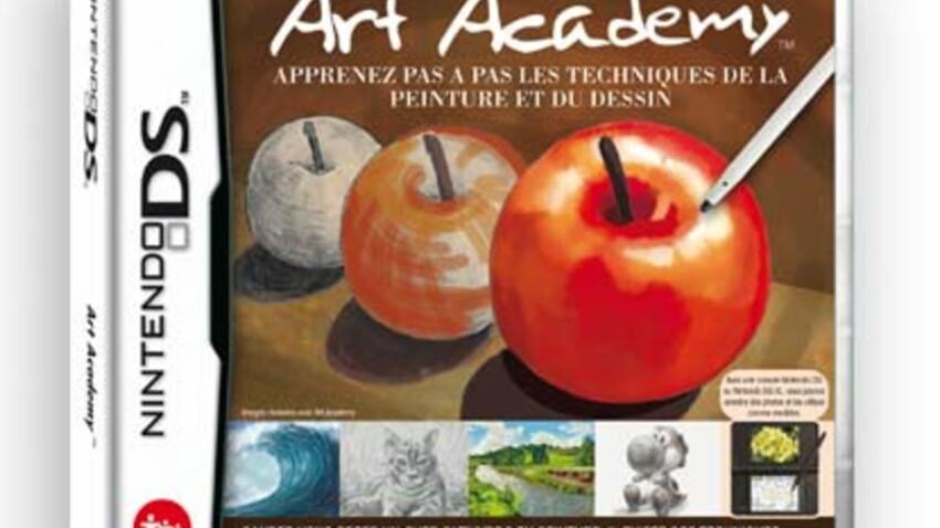 Art academy : on a testé les cours de dessins sur console