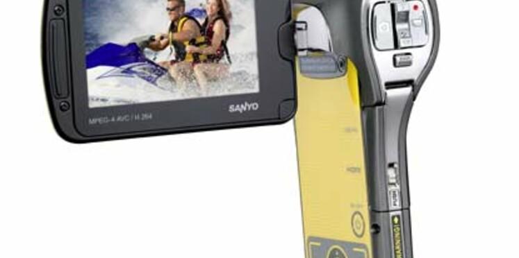Un caméscope Full HD, étanche jusqu'à 3 mètres
