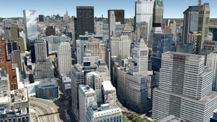 Google Earth de plus en plus réaliste