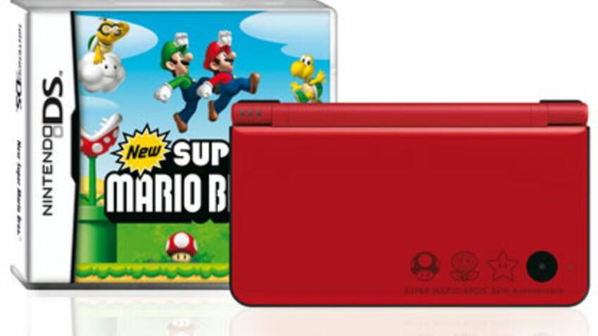 Nintendo sort une DSi XL rouge pour les 25 ans de Mario