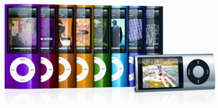 Rentrée Apple : une caméra pour l'iPod Nano et un nouvel iTunes