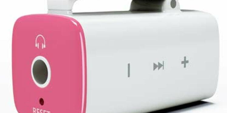 Samsung lance un mini baladeur MP3 à secouer