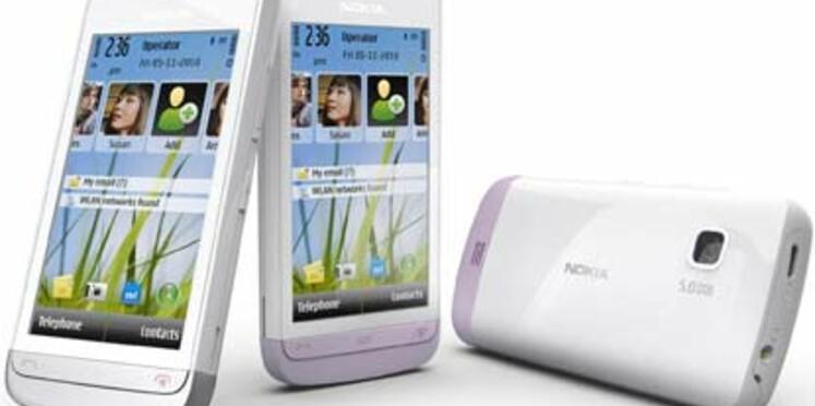 """Nokia annonce un smartphone tactile """"économique"""""""