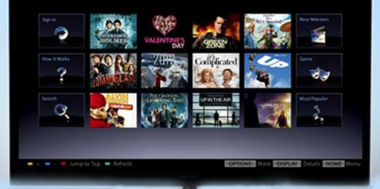 Sony lance sa plateforme de VoD en France