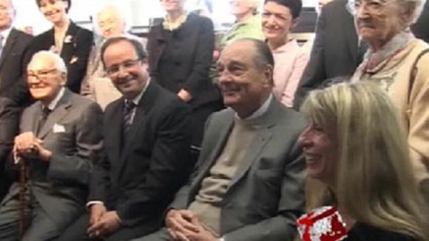 Vidéo Buzz : Jacques Chirac drague devant une Bernadette furax