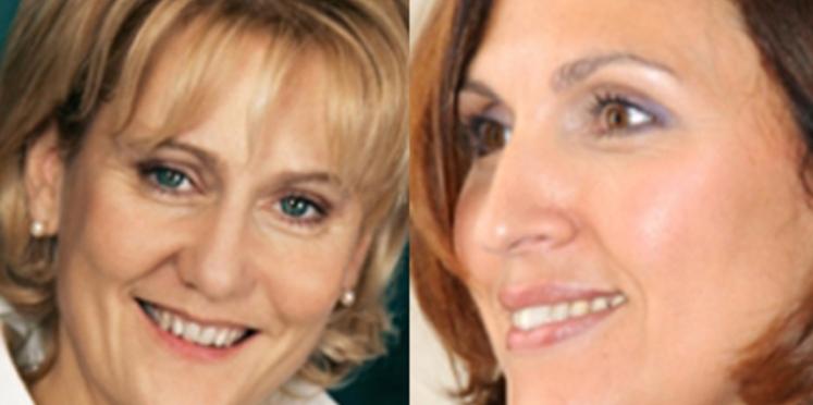Nadine Morano et Nora Berra s'expriment sur les services à la personne