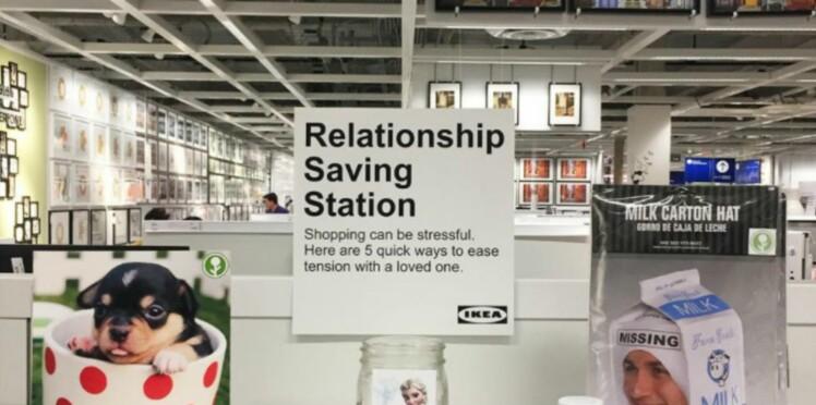 Une idée géniale pour éviter les disputes de couples chez Ikéa
