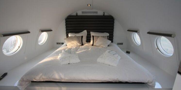 Une nuit d'amour dans un avion grand luxe, c'est comment ?