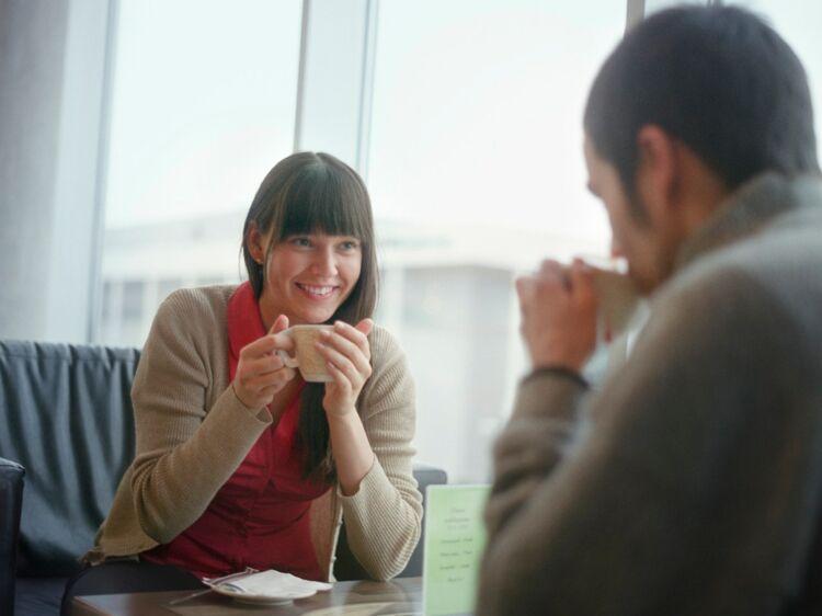 Rencontres en ligne lors du premier baiser