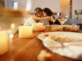Une soirée romantique  au pied levé