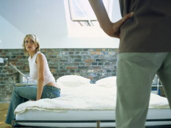 Couples au bord de la crise de nerfs