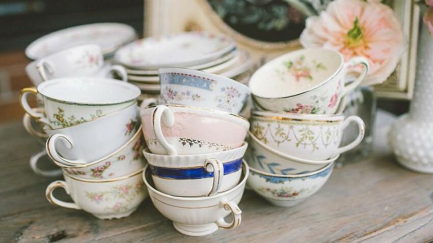 Idée tendance pour mon mariage: le bar à thé