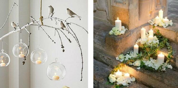 Comment utiliser les bougies LED dans ma déco de mariage? 30 idées repérées sur Pinterest