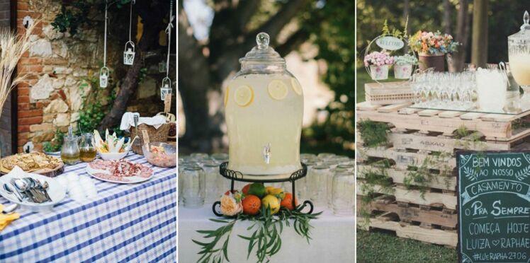 un buffet de mariage chic en 55 recettes femme actuelle le mag. Black Bedroom Furniture Sets. Home Design Ideas