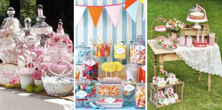 Les Plus Beaux Candy Bars De Mariage Femme Actuelle Le Mag