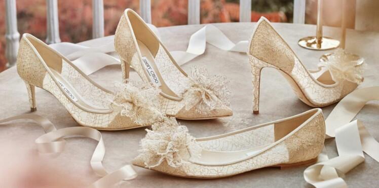 989a0370f4785 Photos – Les chaussures de mariée tendance en 2018 : Femme Actuelle ...