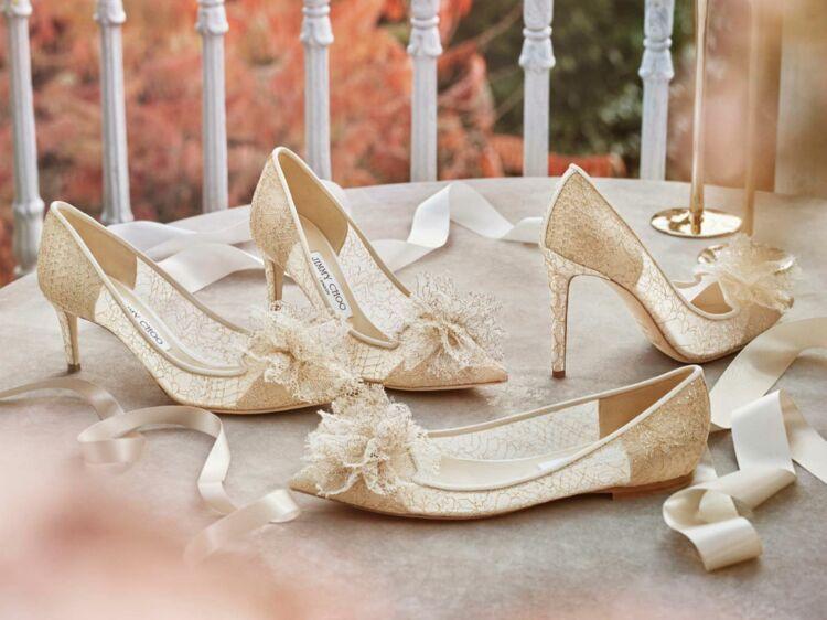 Photos – Les chaussures de mariée tendance en 2018   Femme Actuelle Le MAG 177e54786a17
