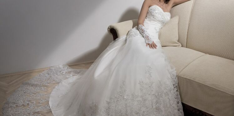 Collections 2011: des robes de mariée aux notes orientales
